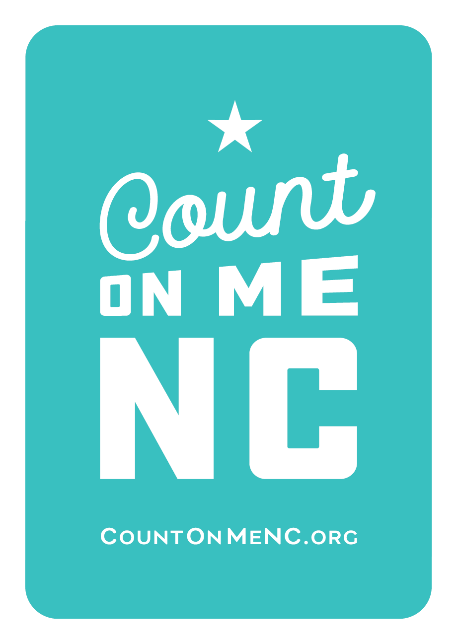 Count on Me NC Participant Badge