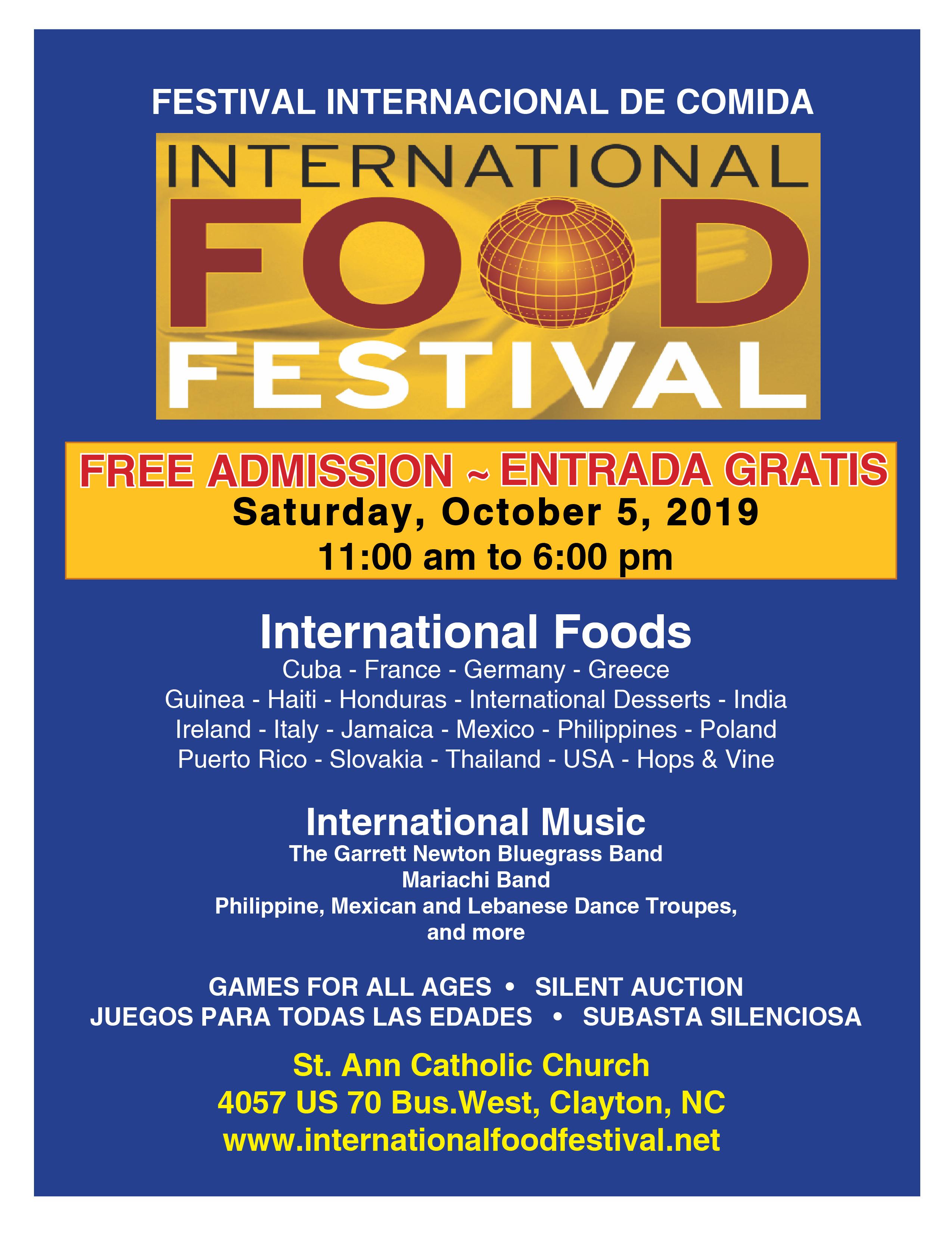 Intern Food Fest