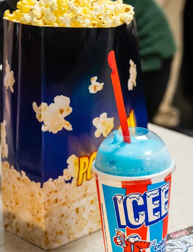 Smithfield Cinema Popcorn and Icee