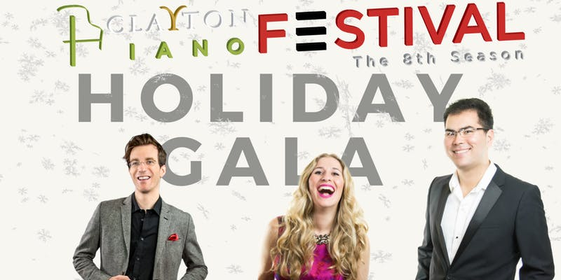 Clayton Piano Festival Holiday Gala